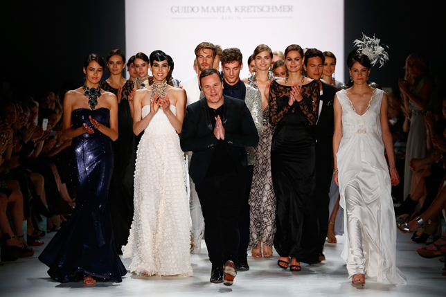 Mercedes benz fashion week, fashion week 2016, guido maria kretschmer, fashion designing, elfashion, elfashion.de